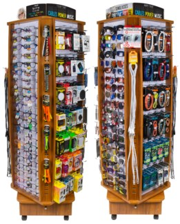 Read/Sun/Tech Assort. - Wood Floor Display - 276pc