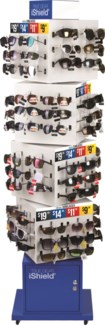 Fashion Sunglasses on Floor Display - 144pc