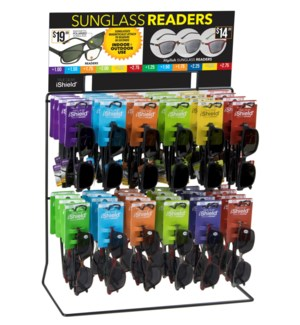 Sunglass Readers Wire Counter Display - 48pc