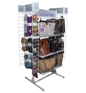 Women's Accessories Walk Around Display - 63pcs