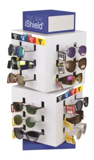 Fashion Sunglasses on Counter Display - 72pc