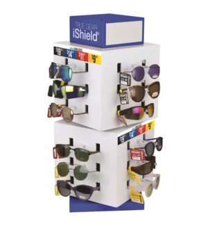 iShield Fashion Sunglasses - Cube Counter Display - 60pcs