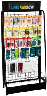 True Tech Endcap Display - 105pc