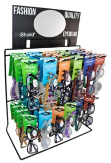 $9.99 iShield Readers - Wire Counter/Hanging Display - 36pcs