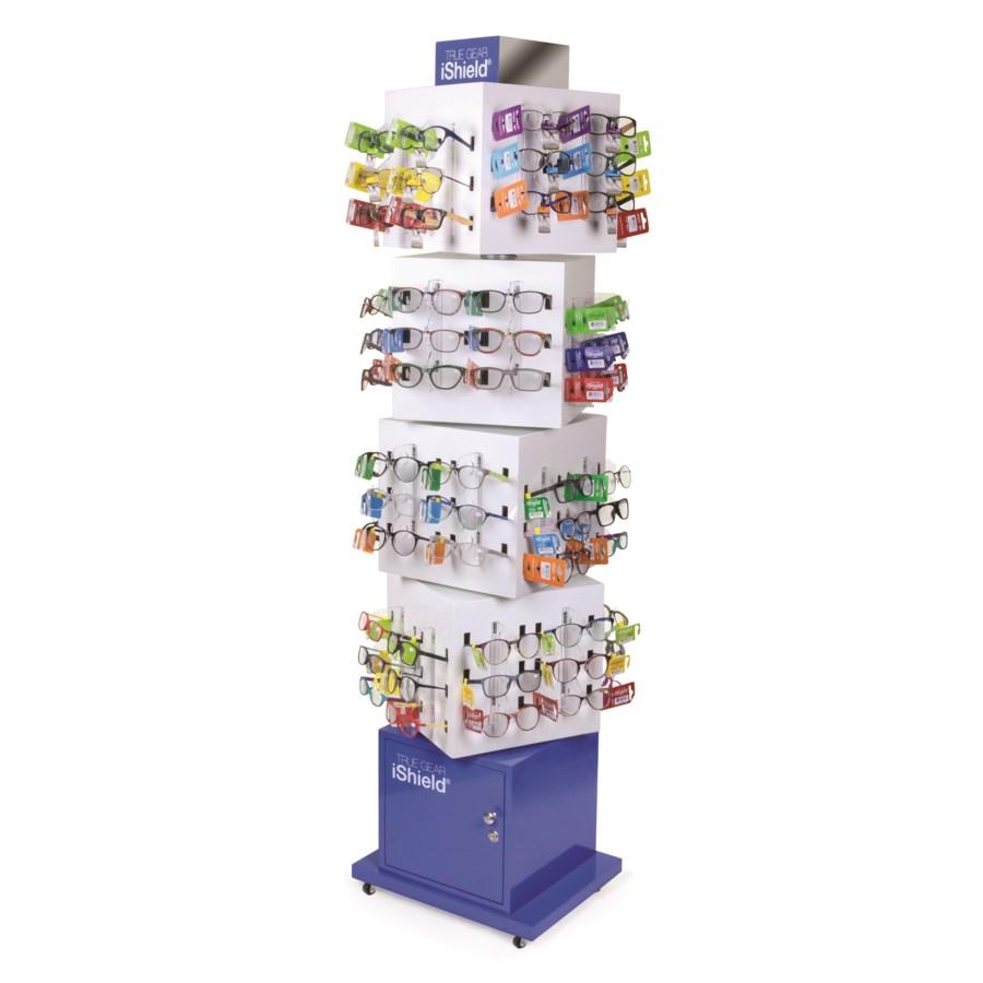 iShield Assorted Readers - Cube Floor Display - 132pcs
