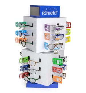 iShield Assorted Readers - Cube Counter Display - 66pcs
