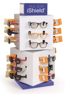 iShield Juniors Read/Sun - Cube Counter Display - 48pcs