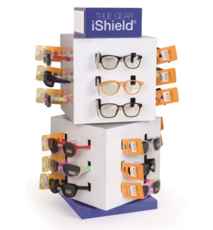 iShield Juniors Read/Sun - Cube Counter Display - 48pcs