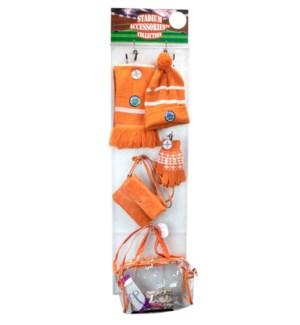 Burnt Orange/White Stadium Accessories Panel - 60pcs