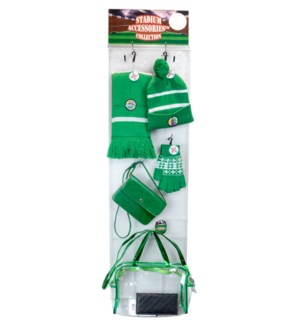 Green/White Stadium Accessories Panel - 60pcs