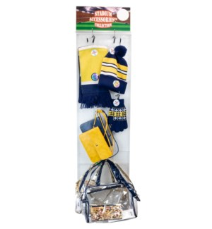 Blue/Gold/White Stadium Accessories Panel - 60pcs