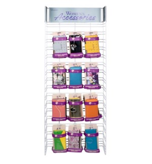 Spring/Summer Women's Wallets Wire Side Panel - 24pcs