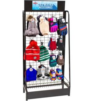 Winter Accessories Endcap - 84pcs