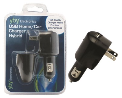 USB Home CarCharger Hybrid