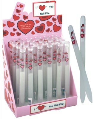 "I ""Heart"" You Nail File"