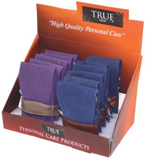 Manicure Set in Suede Case