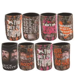 Duck Dynasty Can Coolers